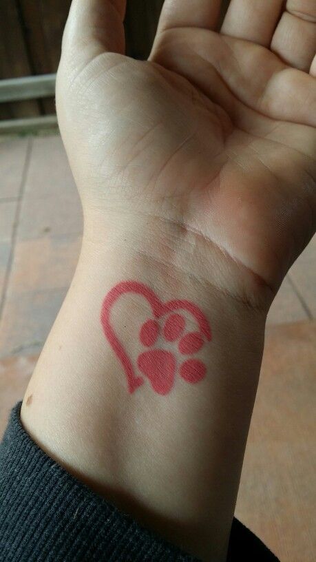 70 Best Paw Print Tattoo Ideas For Dog Lovers The Paws