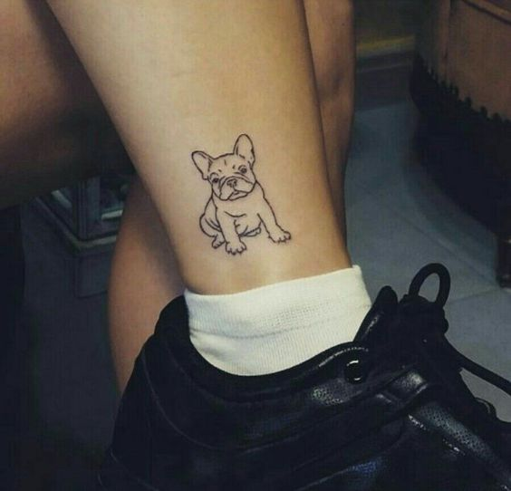 4108c8ec3 Top 60+ French Bulldog Tattoos of All-Time | Page 9 of 13 | The Paws