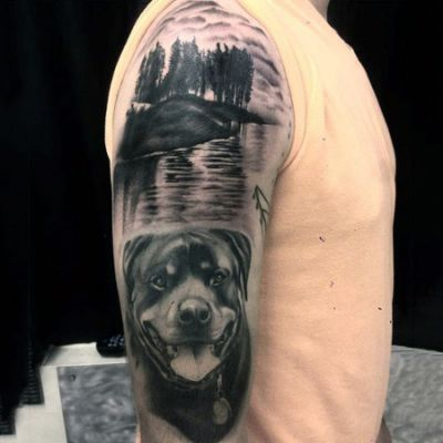 The 35+ Best Rottweiler Tattoo Designs In The World – The Paws