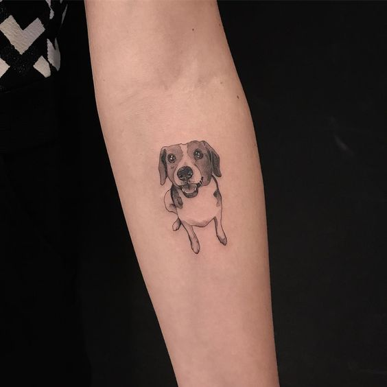 50 Best Small Dog Tattoo Ideas Page 6 Of 22 The Paws