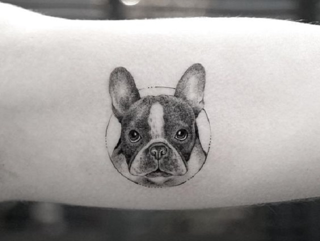 50 Best Small Dog Tattoo Ideas The Paws