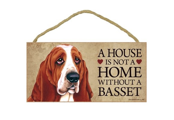 Basset Hound Door Sign