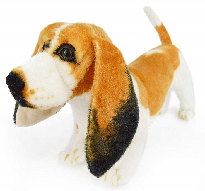Basset Hound Stuffed Animal
