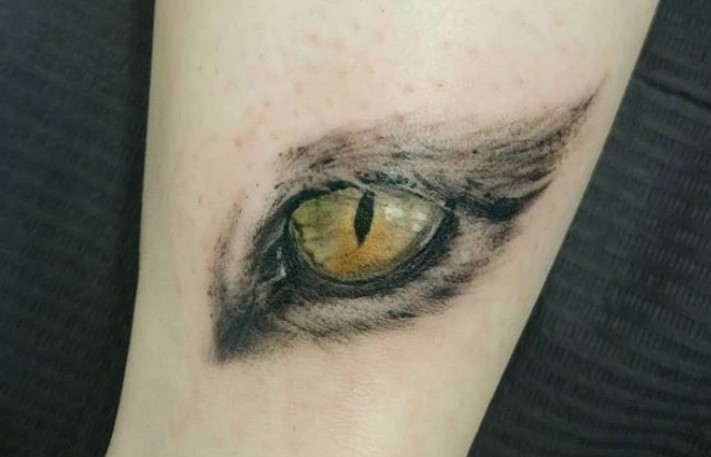 Cat Eye Tattoo Cute Cat 2018