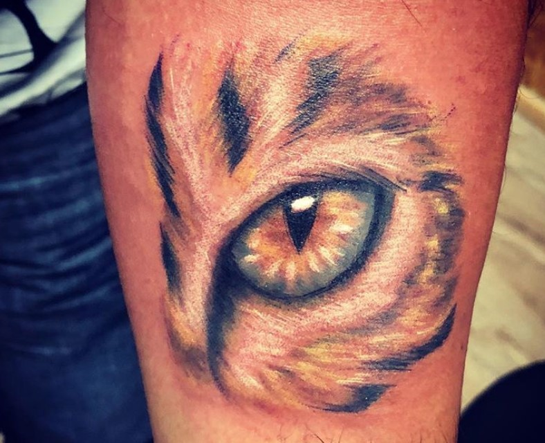 24 Best Cat Eye Tattoo Designs Page 5 Of 6 The Paws
