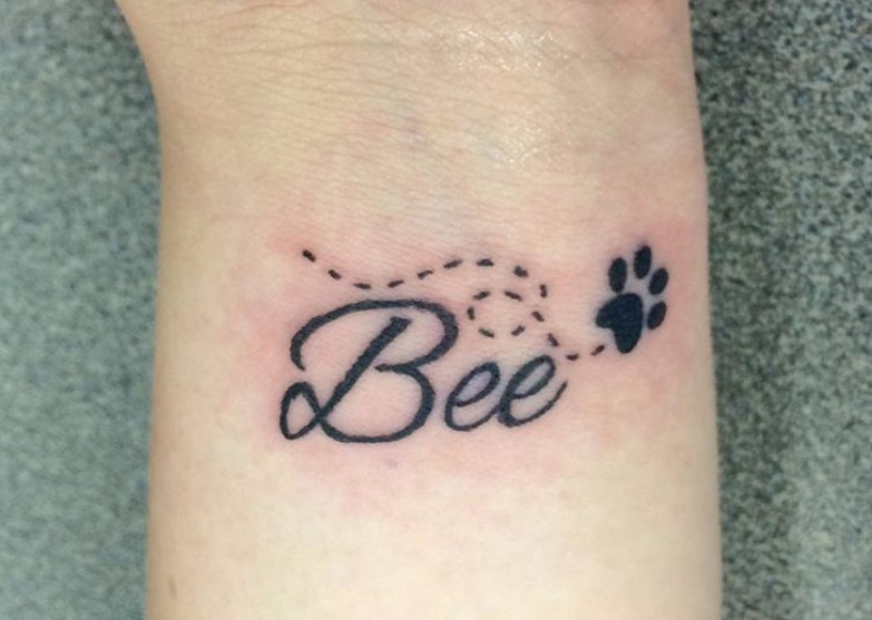 50+ Best Dog Memorial Tattoo Ideas | The Paws