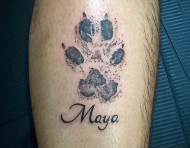20 Best Dog Name Tattoo Designs The Paws Here is a list of 25 best name tattoo designs pictures for men. 20 best dog name tattoo designs the paws