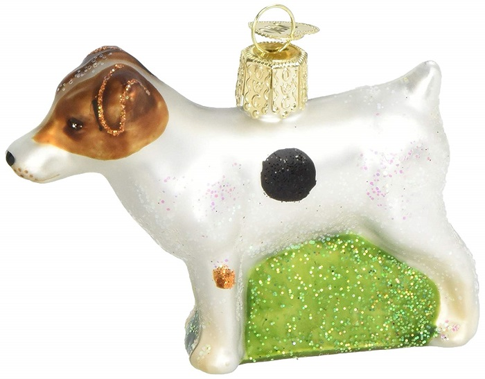 Jack Russell Terrier Ornament for Christmas Tree
