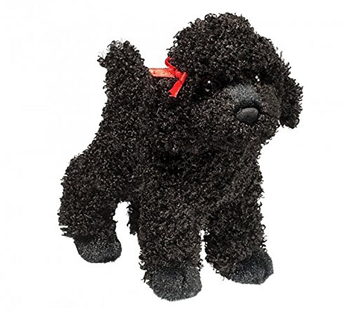 Black Poodle Stuffed Toy