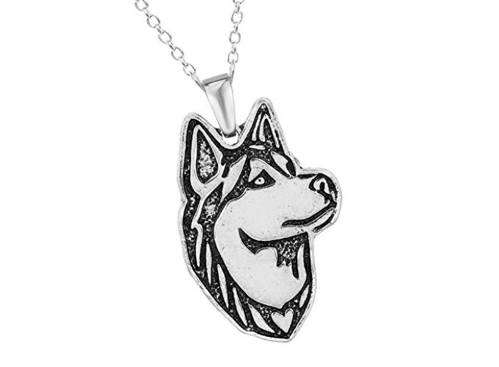 Women's 3d Husky Necklace