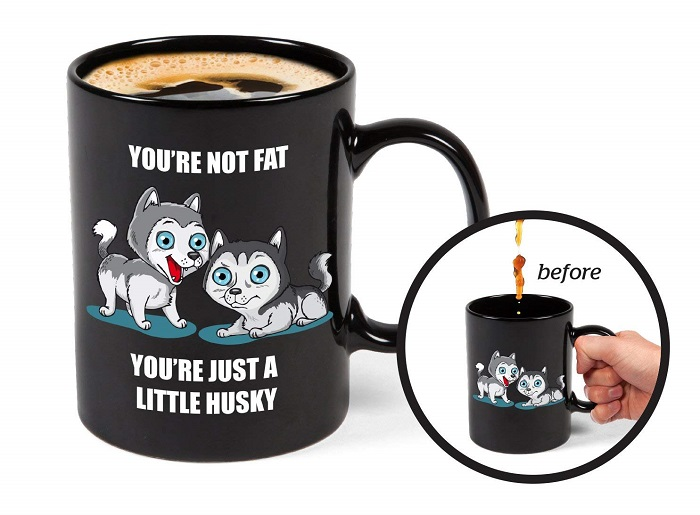 Color Changing Husky Mystery Mug