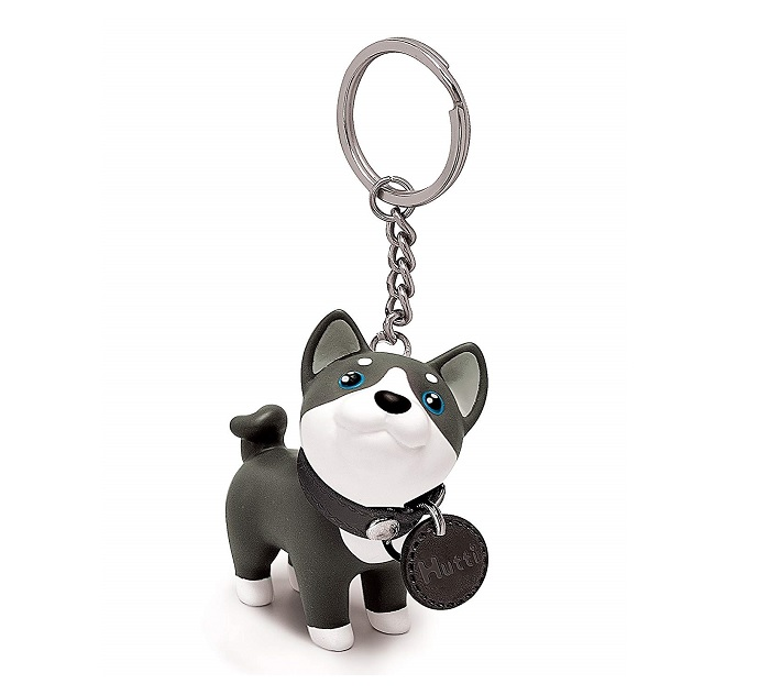 Husky Key Ring