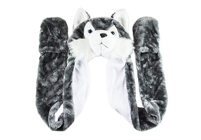 Husky Cute Winter Hat