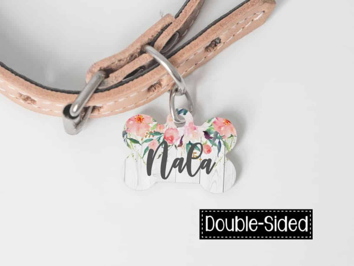 Floral Design ID Tag