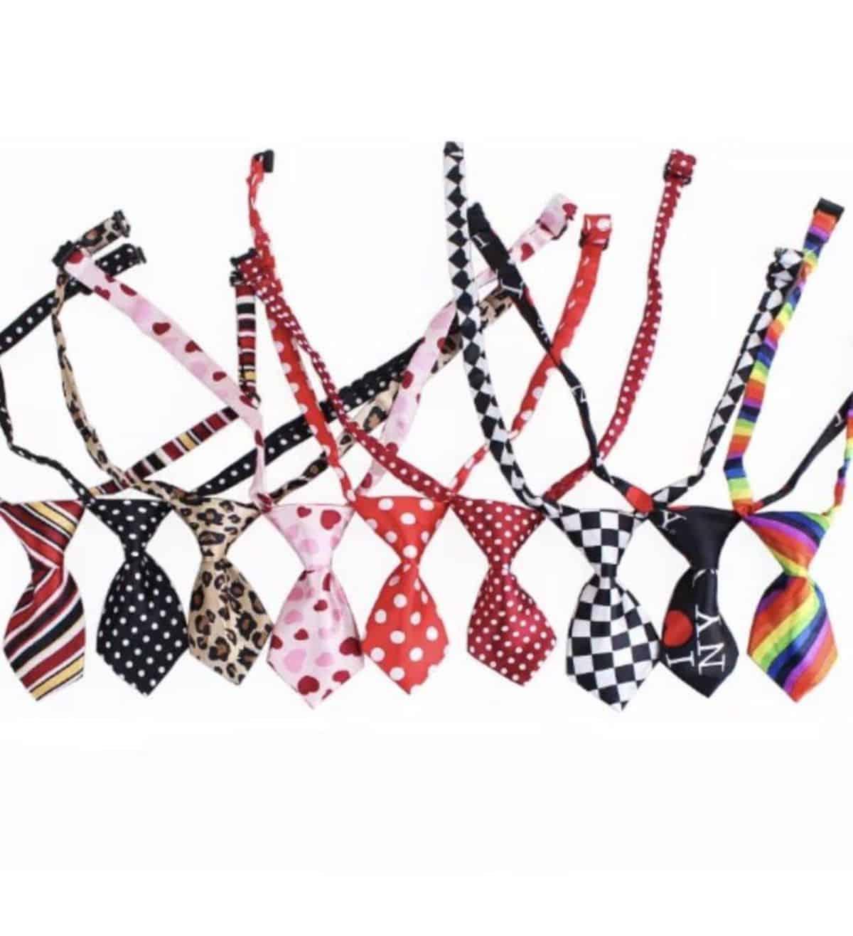 dog neck tie collar