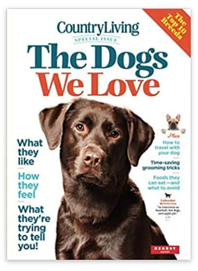 the dogs we love book from country love