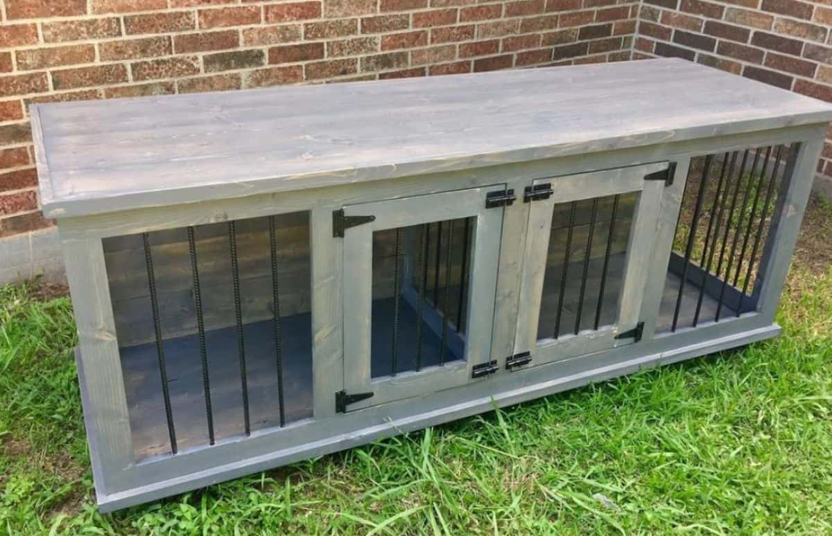 DIY dog crate build plans